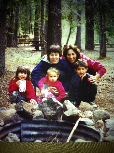 Circa: 1995L-R: Haily, Hannah, Kim, Gail, James