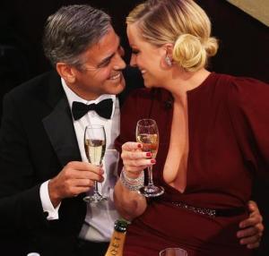 George Clooney & Amy Poehler