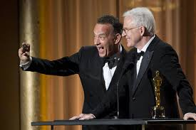 Tom Hanks & Steve Martin Selfie