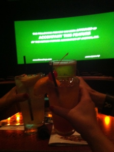 Cheers, now let's watch a movie!