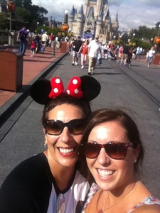 Haily & I at Magic Kingdom