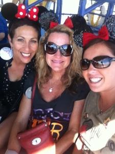 Gail, Melissa & Haily, WDW 2013