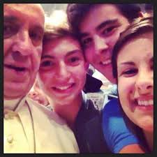 The Pope Selfie